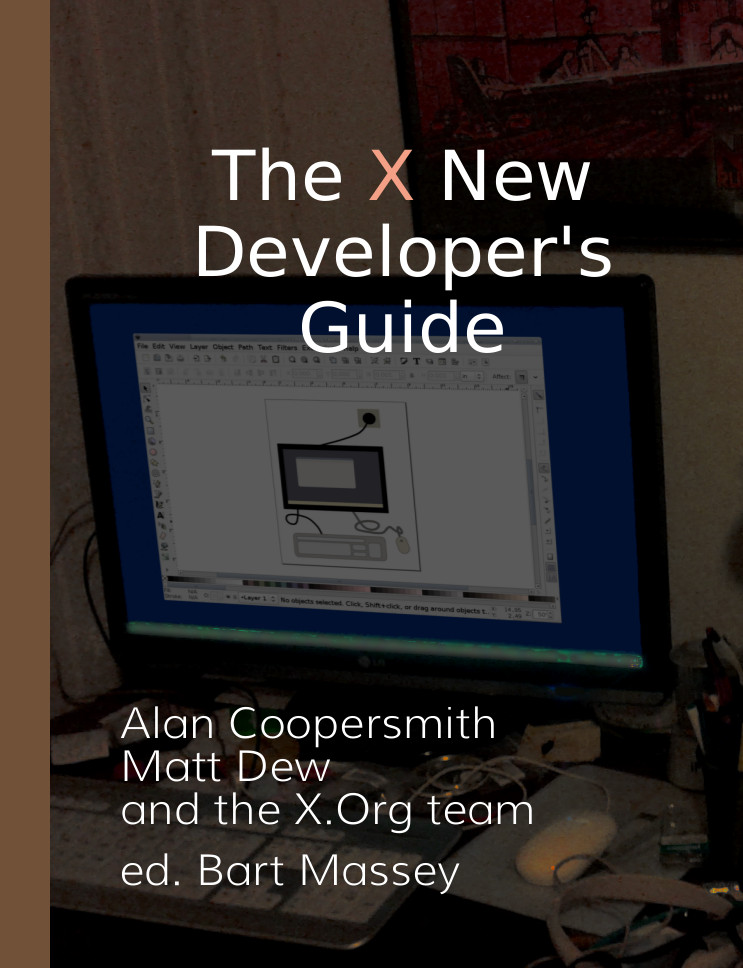 Book Cover of The X New Developer's Guide